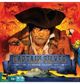 Asmodee Treasure Island Expansion: Captain Silver: Revenge Island