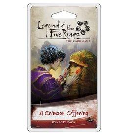 Fantasy Flight Games L5R LCG: A Crimson Offering Dynasty Pack
