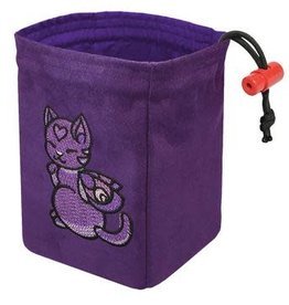 Red King Embroidered Dice Bag: Charmed Creatures Cat
