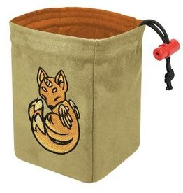 Red King Embroidered Dice Bag: Charmed Creatures Fox