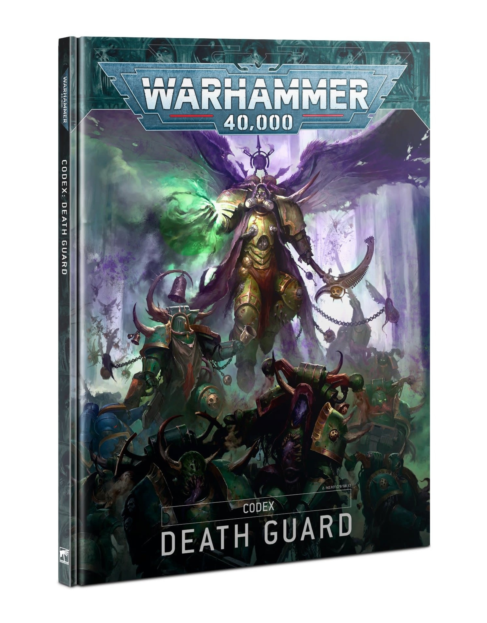 Games Workshop CODEX: DEATH GUARD (HB) (ENGLISH)