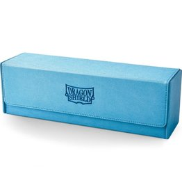 Arcane Tinmen Dragon Shield Deck Box: Magic Carpet 500 Blue w/ Black