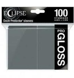 Ultra Pro Deck Protectors: Eclipse Gloss: Smoke Grey (100)