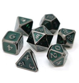 Die Hard Dice Metal Dice 7 set Mythica Sinister Emerald