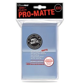 Ultra Pro Deck Protector Sleeves PRO: Matte Clear (100)