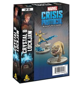 Atomic Mass Games Marvel CP: Crystal & Lockjaw Pack