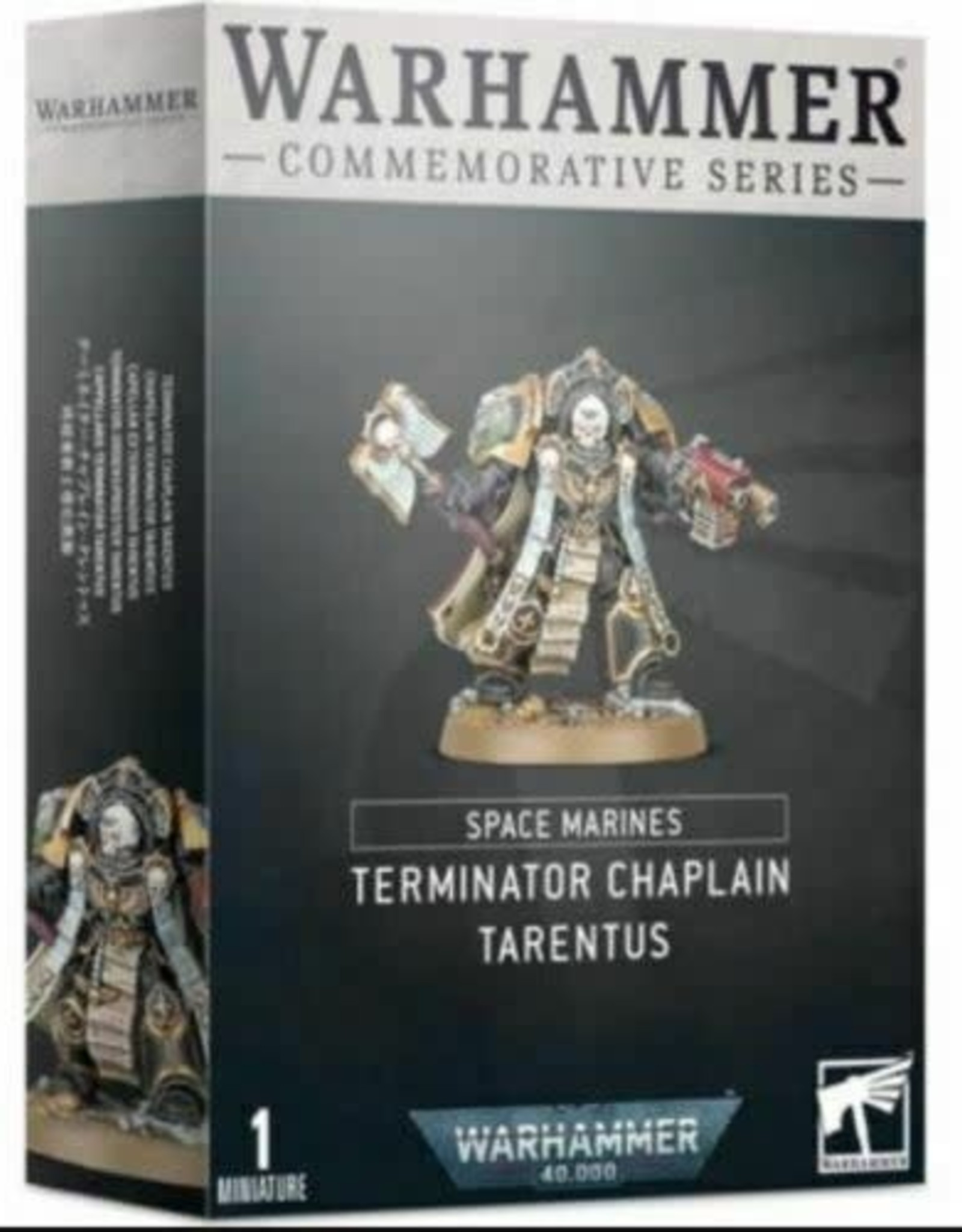 Games Workshop S/MARINES: TERMINATOR CHAPLAIN TARENTUS