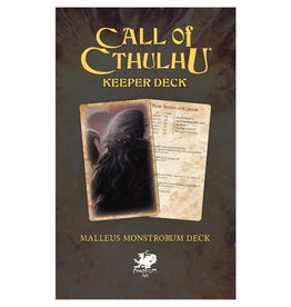 Chaosium Call of Cthulhu: Keeper Deck: Malleus Monstrorum