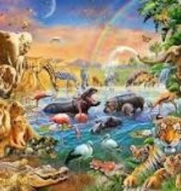 Ravensburger 100pc XXL puzzle Savannah Jungle Waterhole