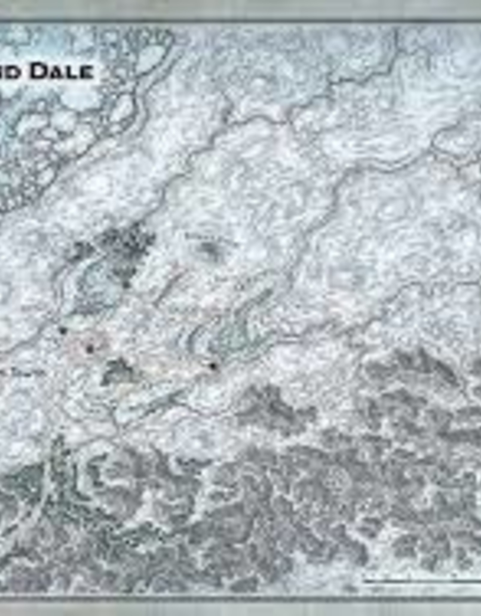 Gale Force 9 D&D 5th: Icewind Dale Map