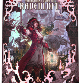 Wizards of the Coast D&D 5th: Van Richten's Guide to Ravenloft Alt Art Cover [preorder]