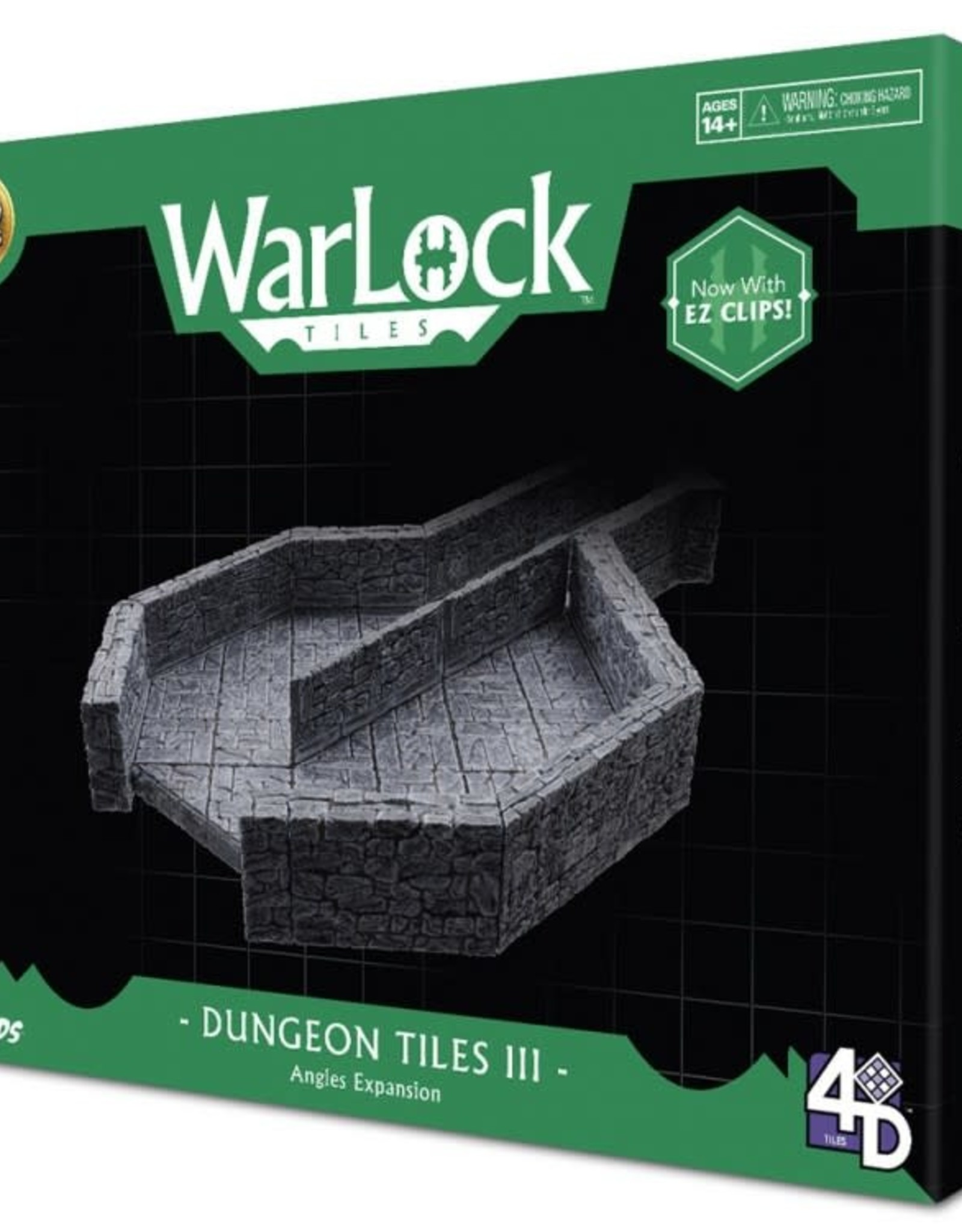 WizKids WarLock Tiles: Dungeon Tiles III: Angles Expansion