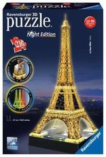 Ravensburger 3D Puzzle Eiffel Tower - Night