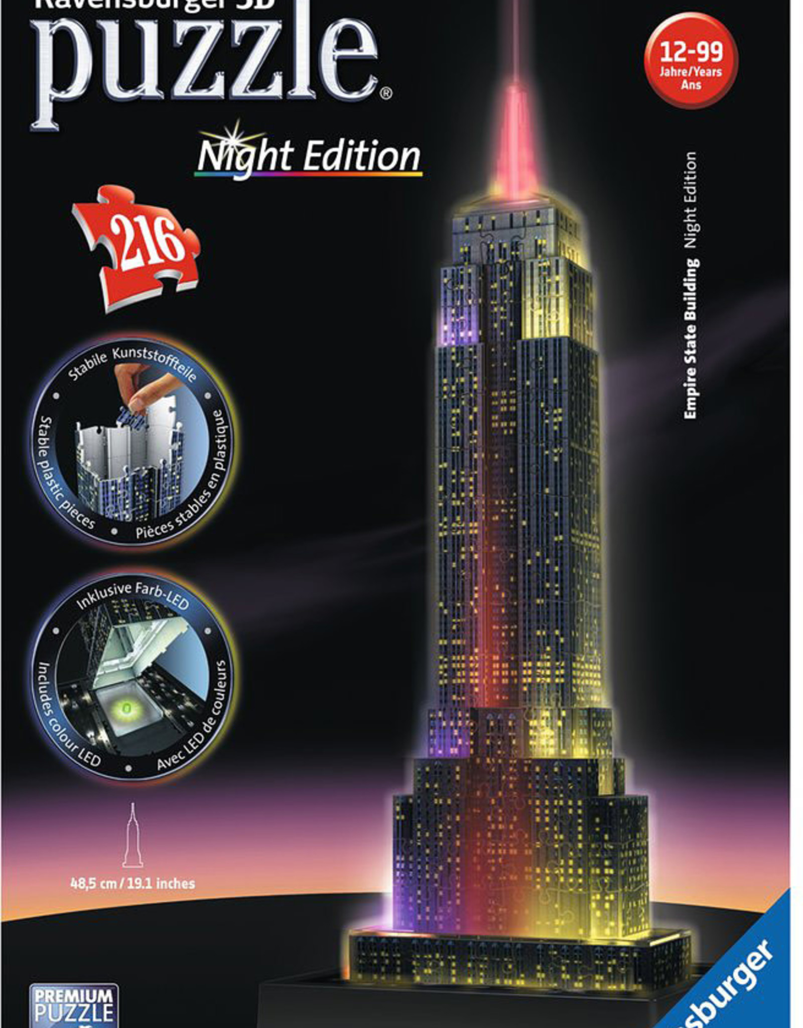 Ravensburger 3D Puzzle Empire State - Night