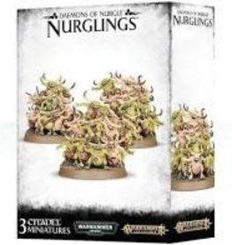 Games Workshop DAEMONS OF NURGLE NURGLINGS