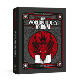 Wizards of the Coast D&D 5th: The Worldbuilder's Journal of Legendary Adventures