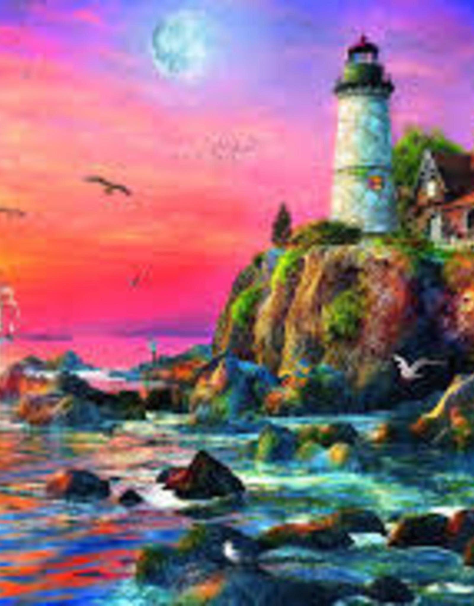 Ravensburger 500pc puzzle Lighthouse at Sunset