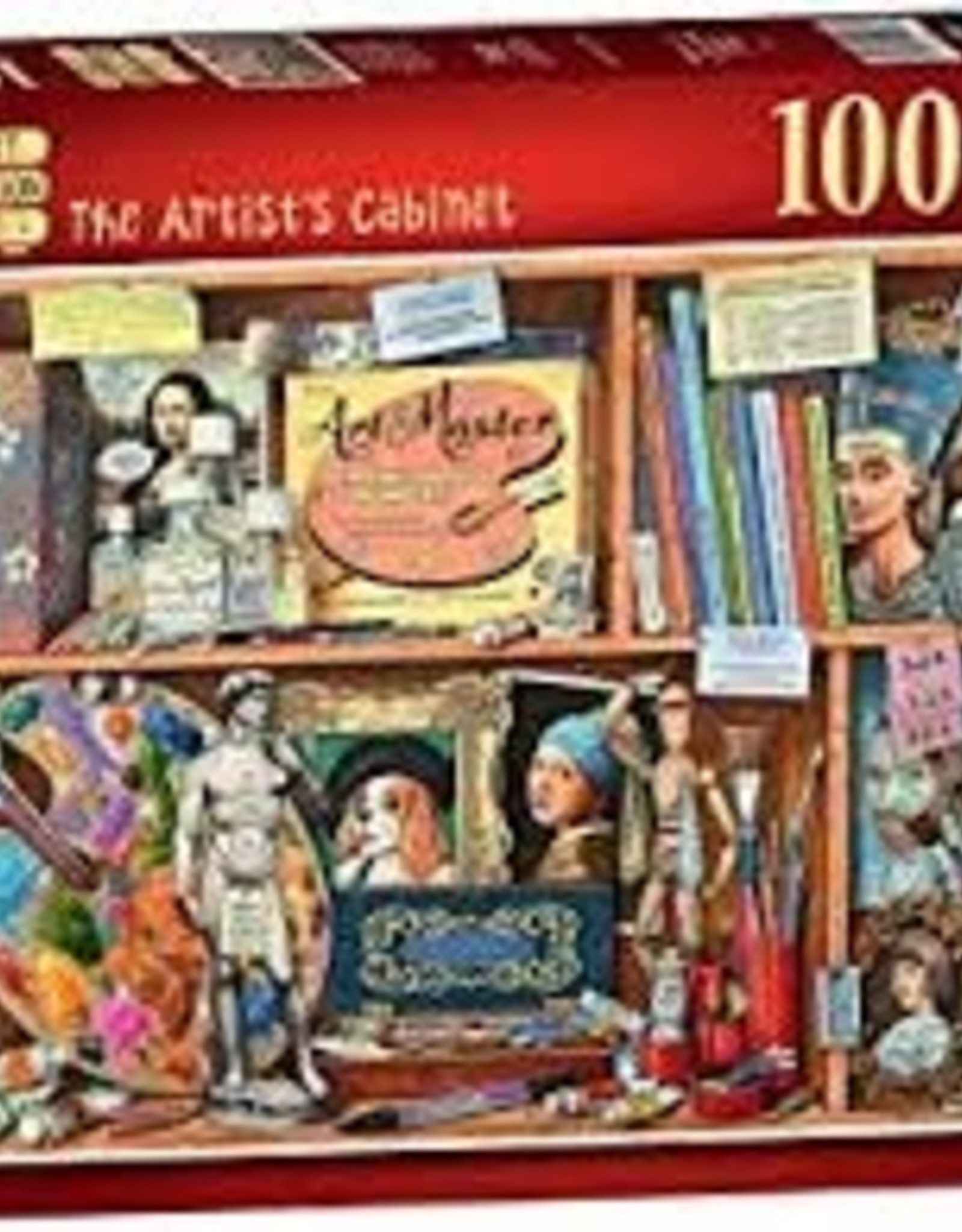 Ravensburger 1000pc puzzle The Artist's Cabinet