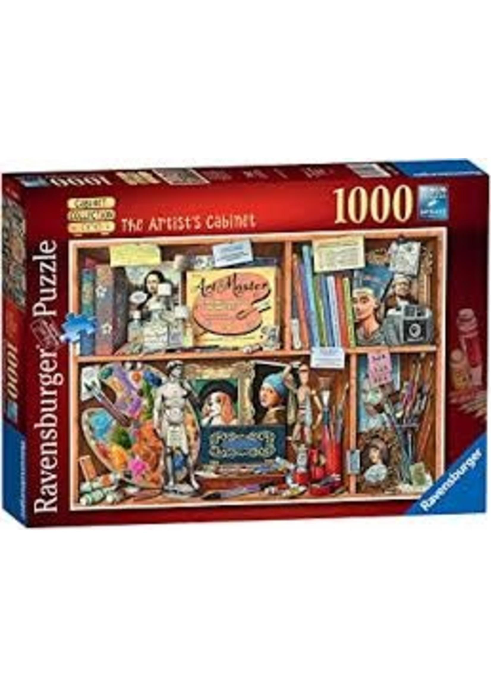 Ravensburger 1000pc puzzle The Artist's Cabinet