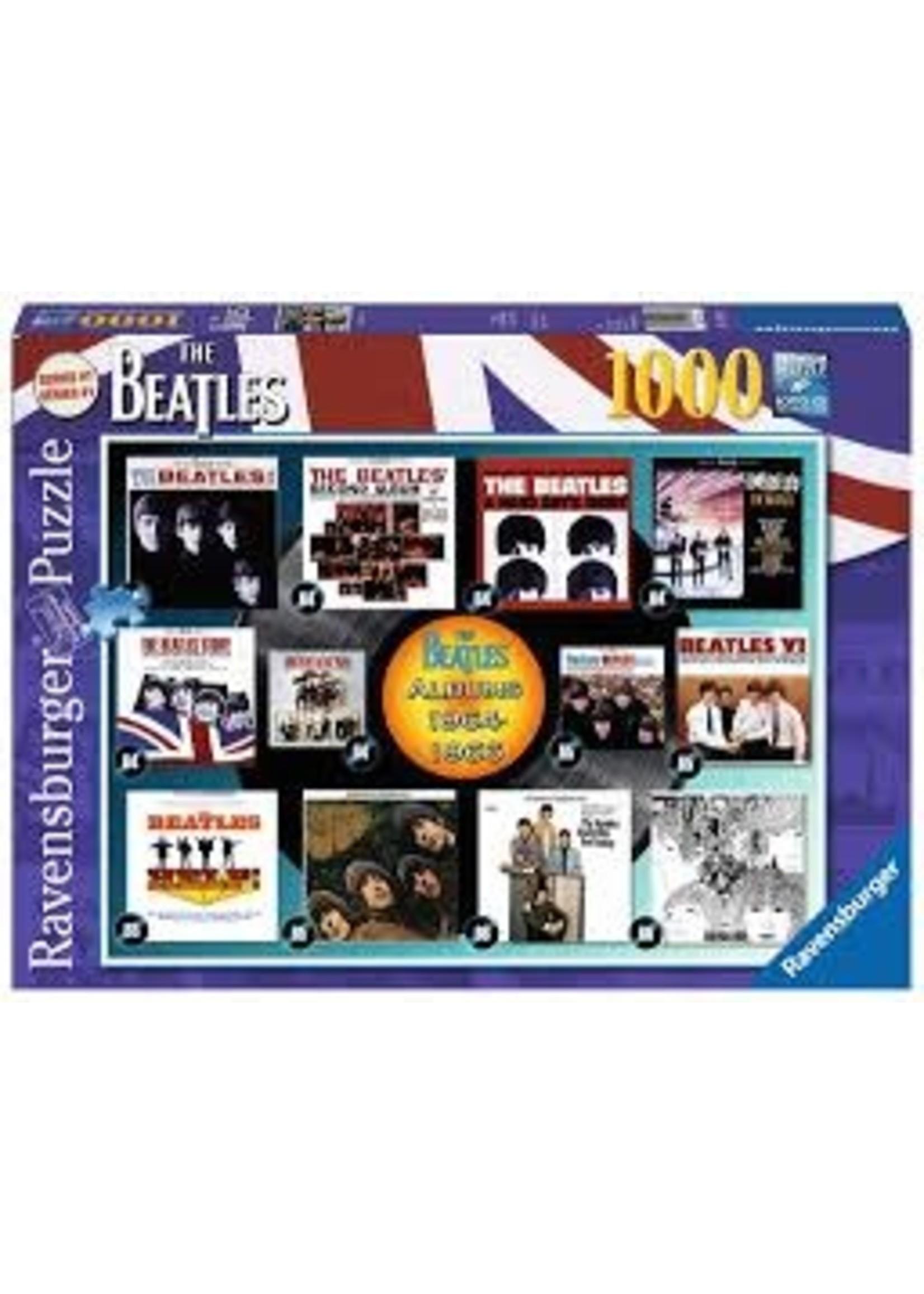Ravensburger 1000pc puzzle The Beatles Albums 1964 - 66