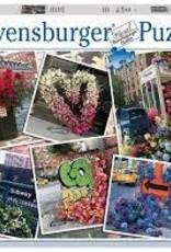 Ravensburger 1000pc puzzle NYC Flower Flash