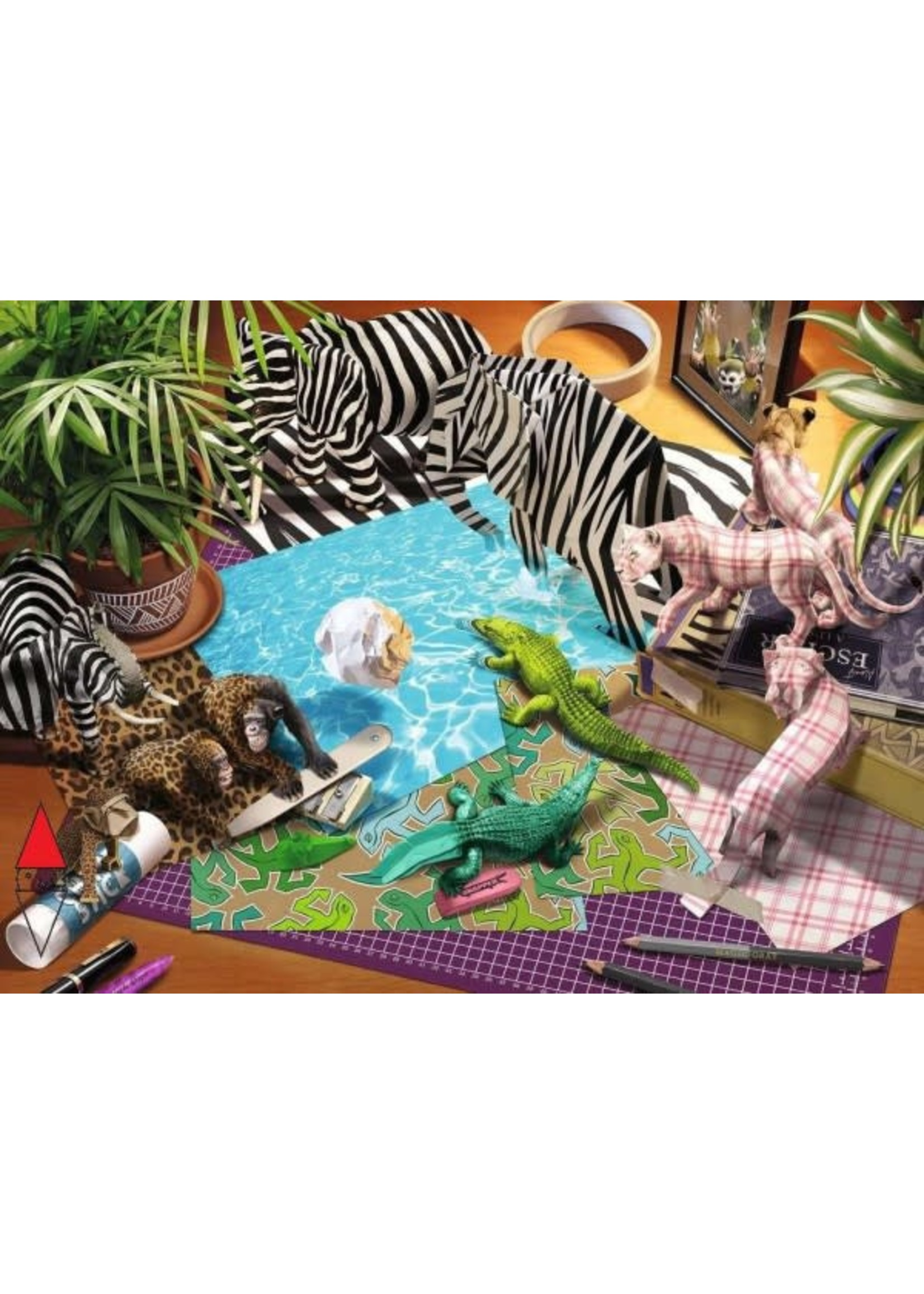 Ravensburger 1500pc puzzle Origami Adventure