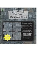 Roll 4 Initiative Dungeon Tiles: Graystone Graystone - Pack of 36 Five Inch Squares