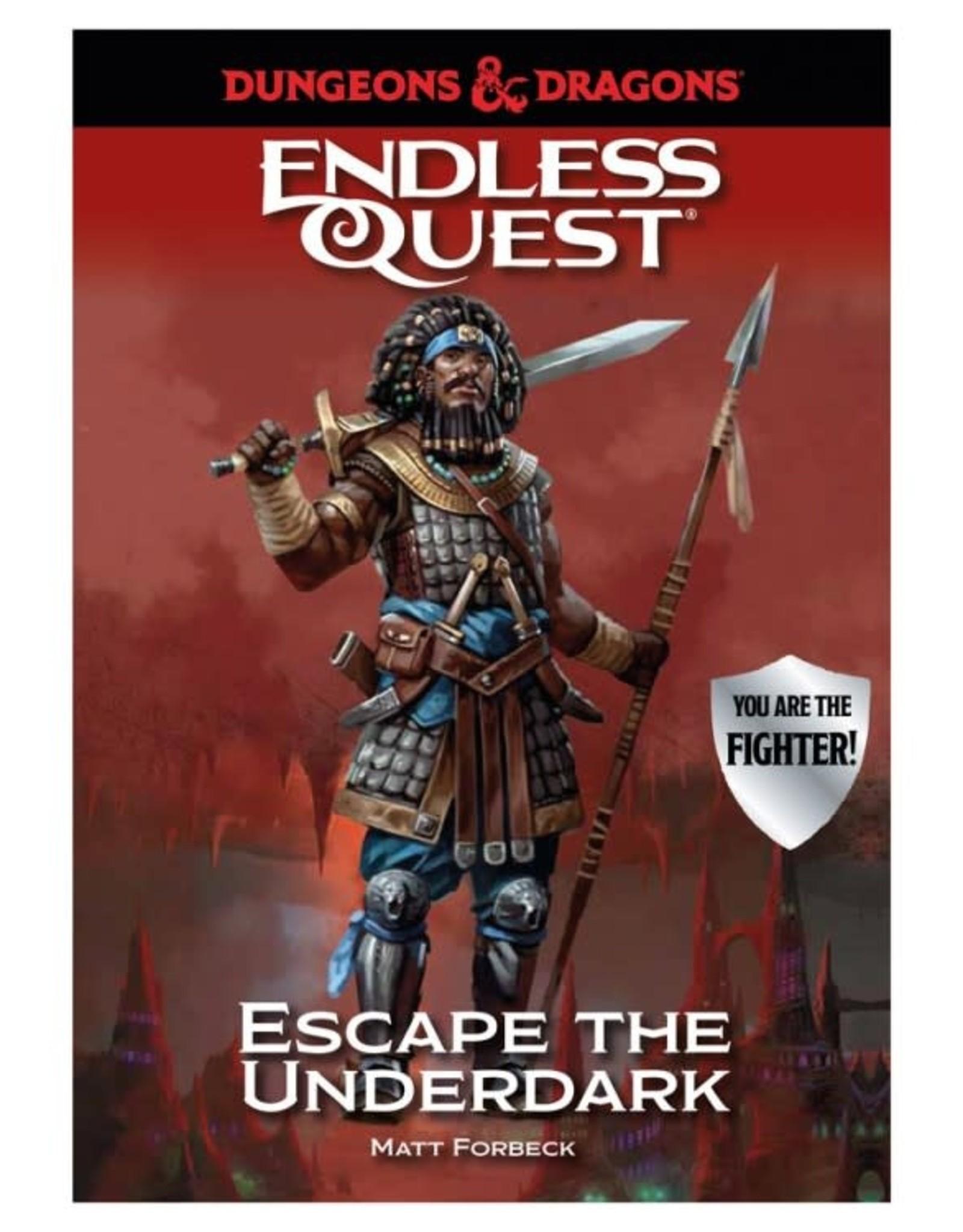 Random House D&D Endless Quest: Escape the Underdark