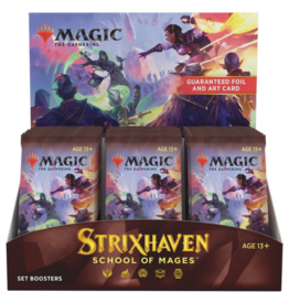 Wizards of the Coast Strixhaven Set Booster Box + Buy a Box Promo [Preorder]