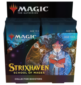 Wizards of the Coast Strixhaven Collector Booster Box + Buy a Box Promo [Preorder]