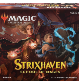 Wizards of the Coast Strixhaven Bundle [Preorder] - Releases April 23, not a prerelease item