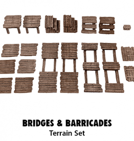 Monster Fight Club Monster Scenery: Bridges & Barricades