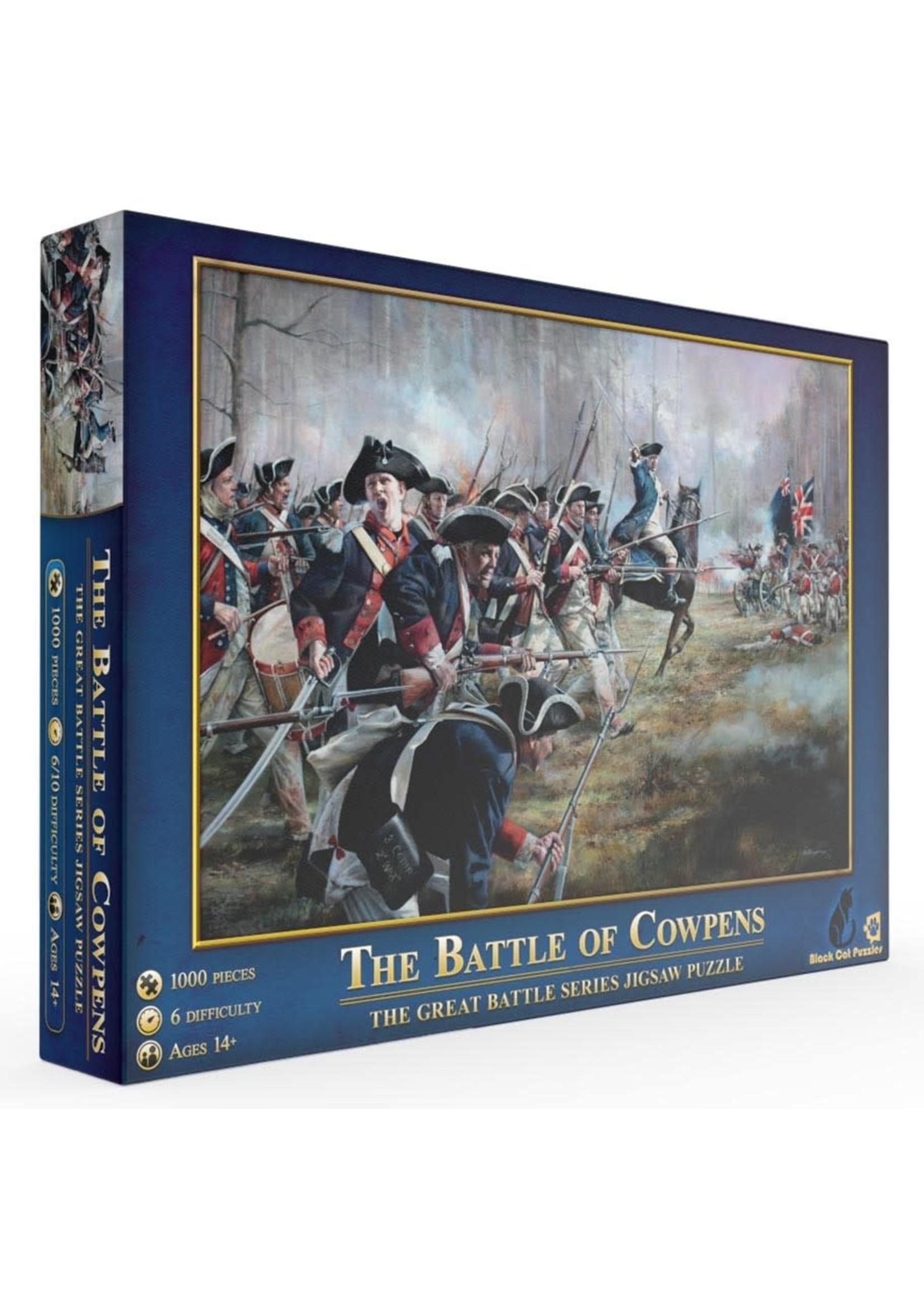 Mchezo 1000pc puzzle The Battle of Cowpens