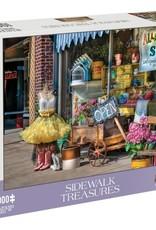 Mchezo 1000pc puzzle Sidewalk Treasures