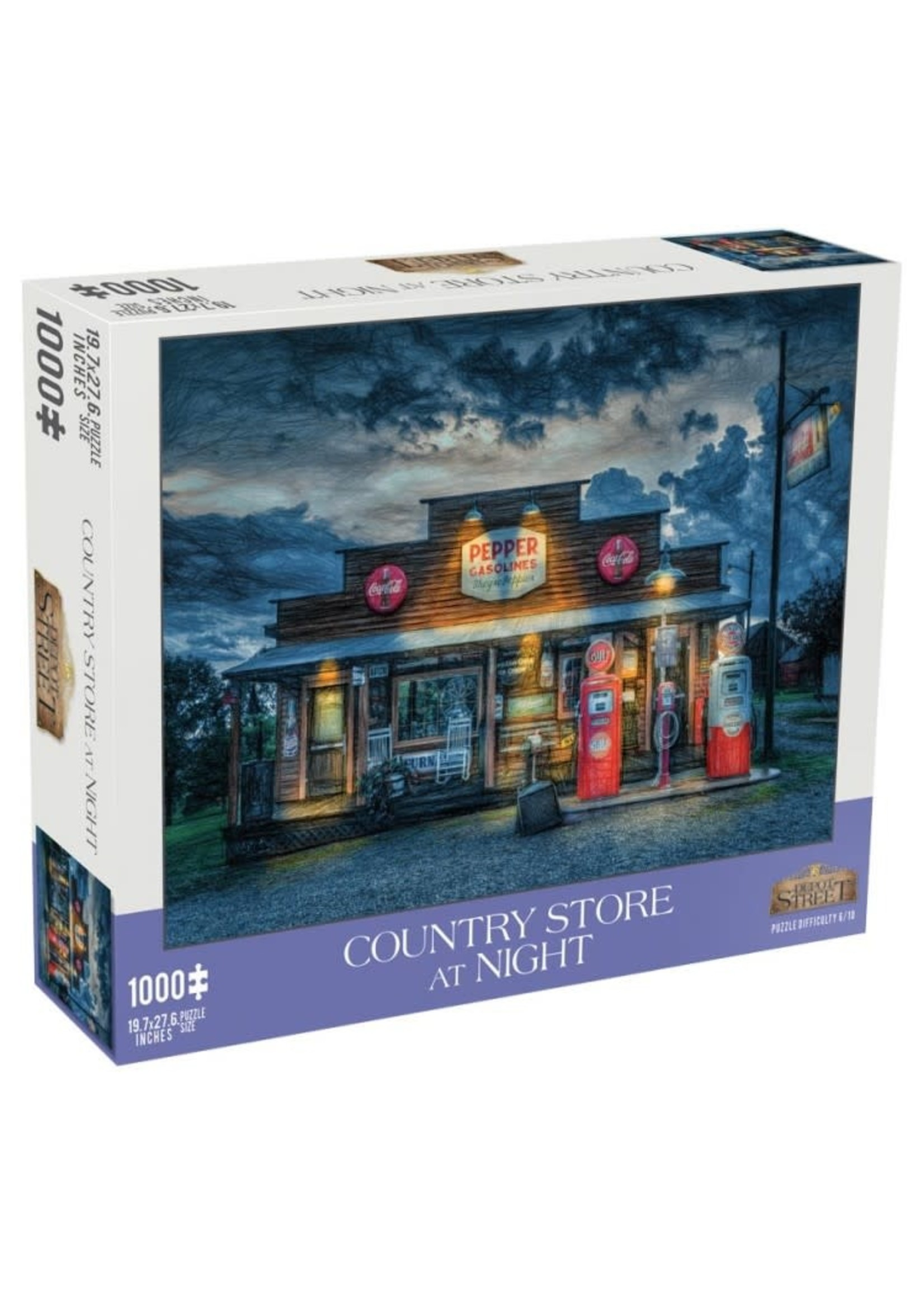 Mchezo 1000pc puzzle Country Store At Night