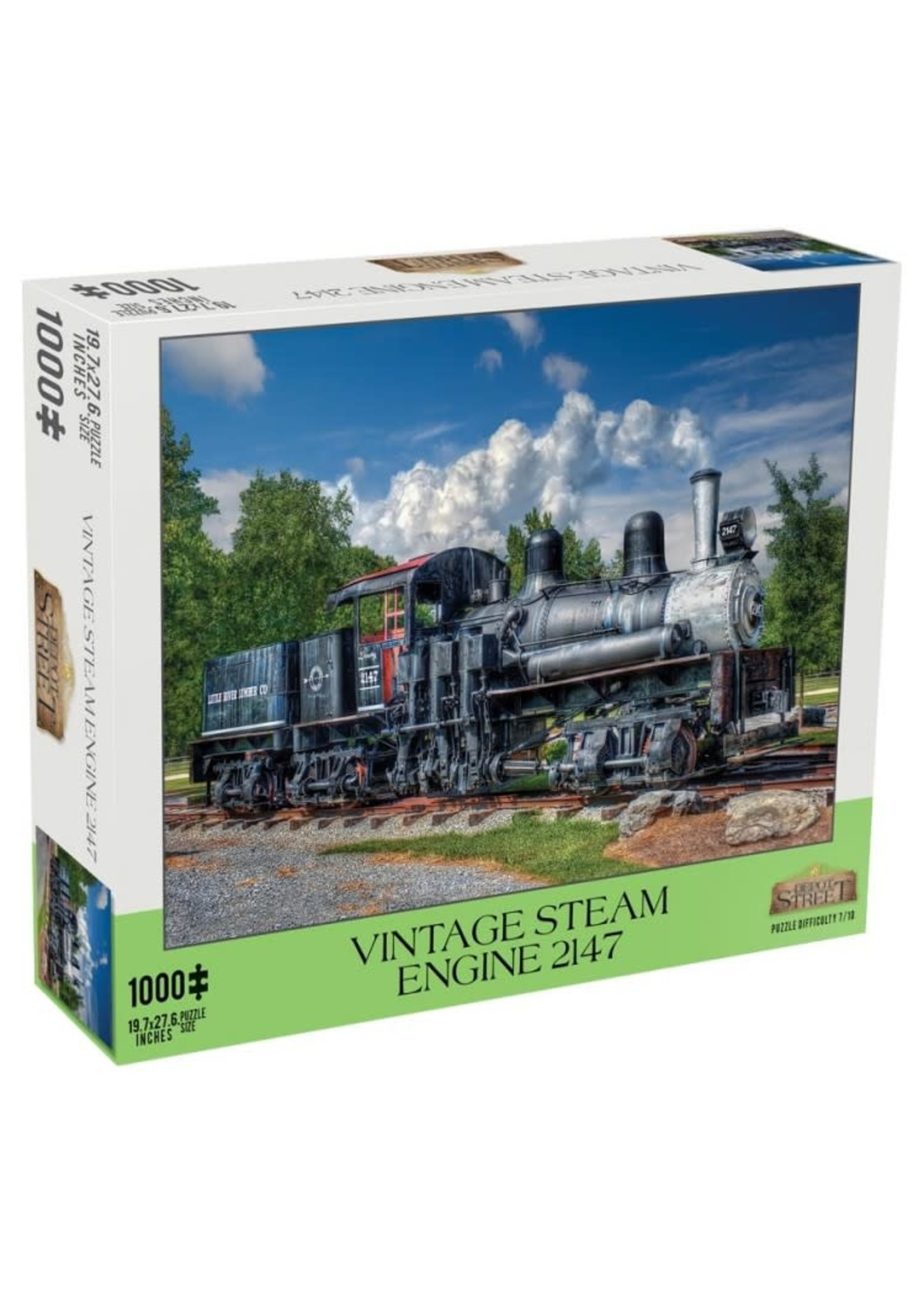 Mchezo 1000pc puzzle Vintage Steam Engine