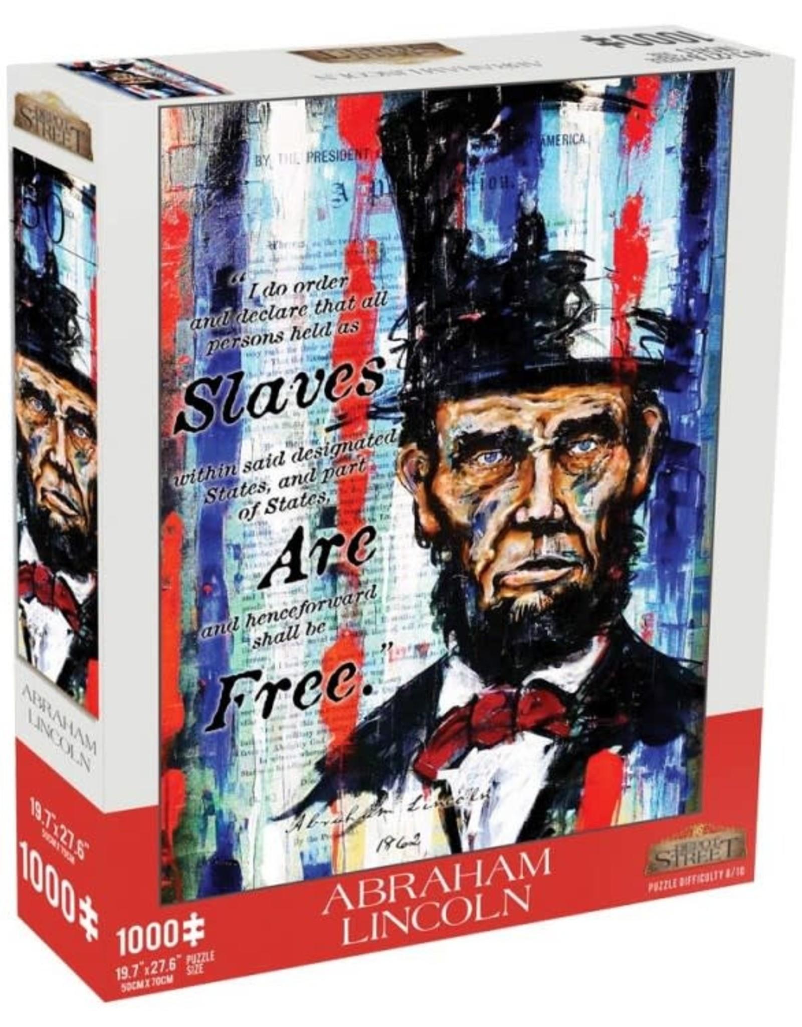 Mchezo 1000pc puzzle Abraham Lincoln