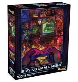 Mchezo 1000pc puzzle Staying Up All Night [preorder]