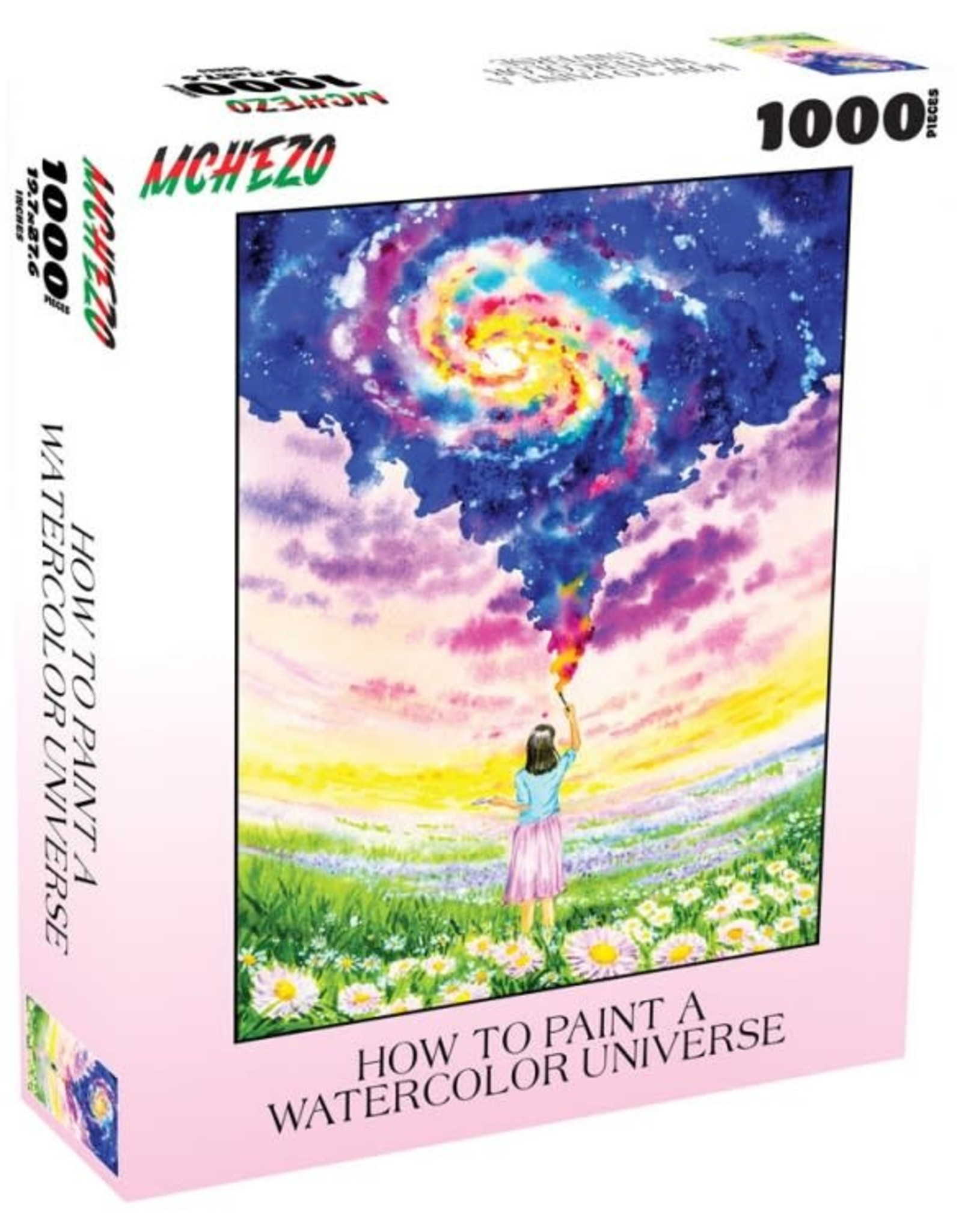 Mchezo 1000pc puzzle How to Paint a Watercolor Universe [preorder]