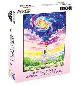 Mchezo 1000pc puzzle How to Paint a Watercolor Universe