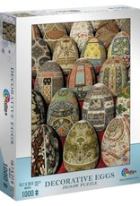 Mchezo 1000pc puzzle Decorative Eggs