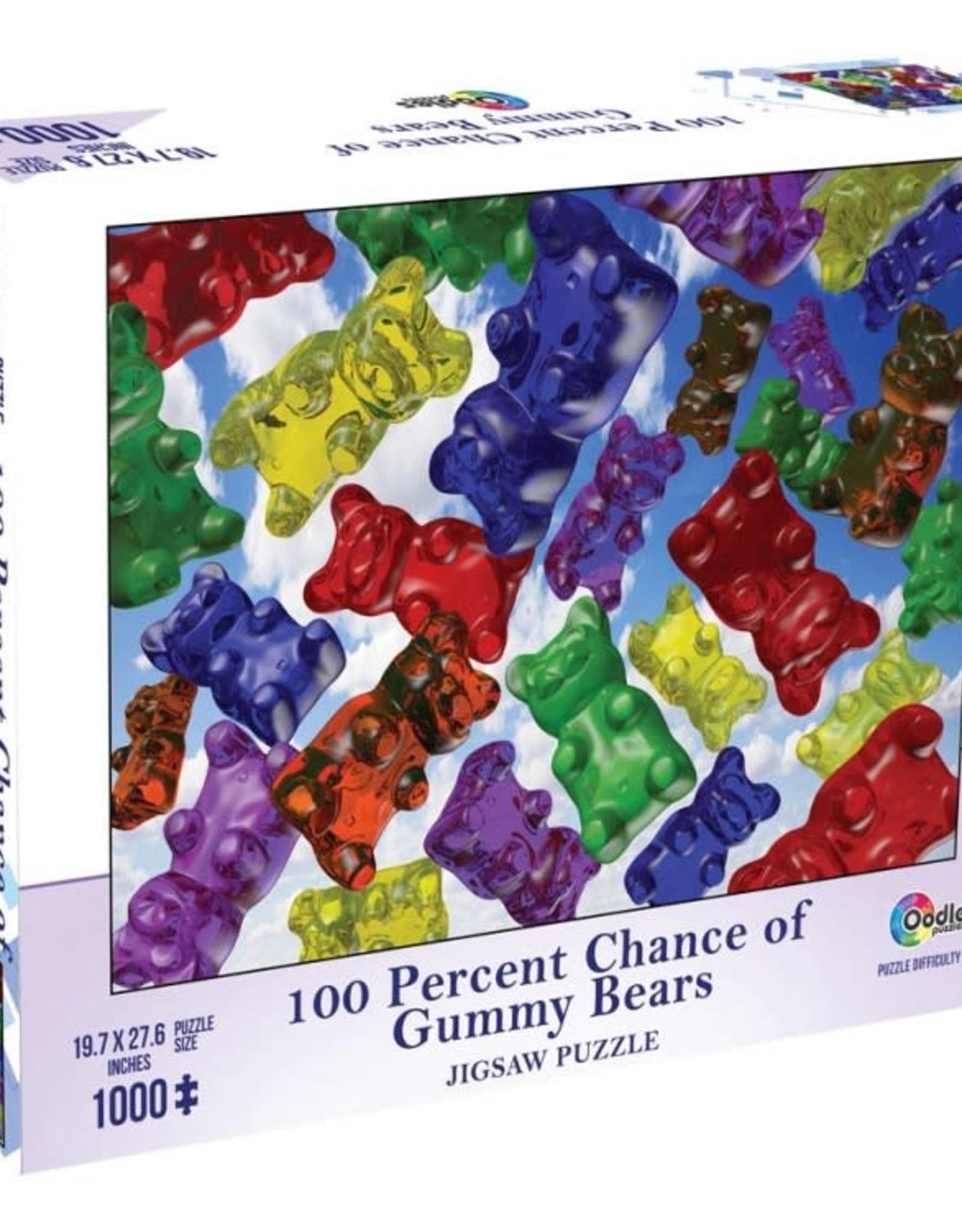 Mchezo 1000pc puzzle 100% Chance of Gummy Bears