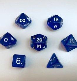 Crystal Caste Translucent 7 set cube: Blue