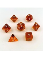 Crystal Caste Translucent 7 set cube: Orange