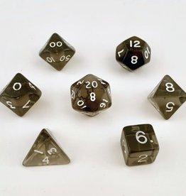 Crystal Caste Translucent 7 set cube: Black
