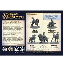 Steamforged Games Animal Adventures: Secrets of Gullet Cove: Dogs