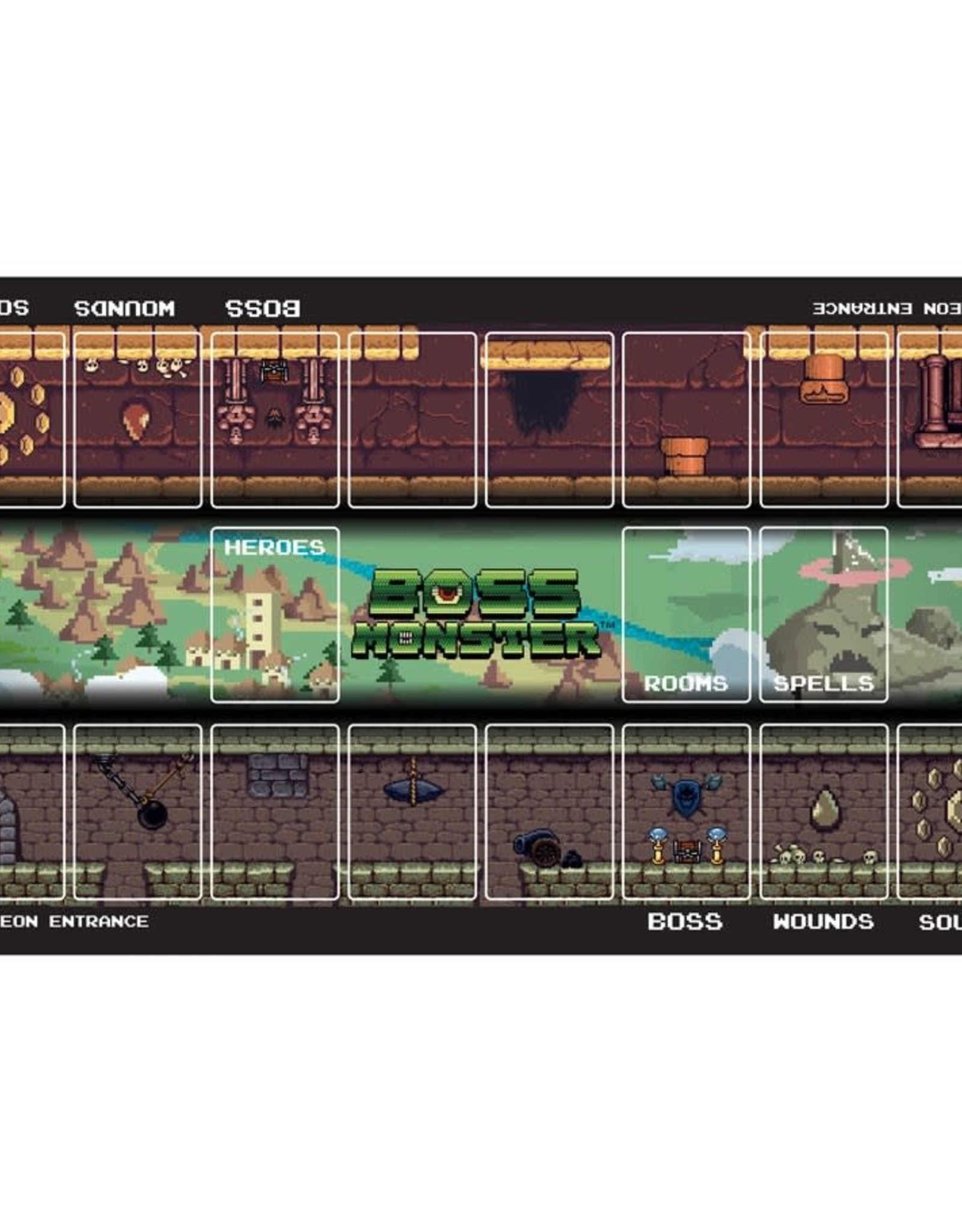 Brotherwise Games Boss Monster Playmat