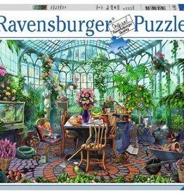 Ravensburger 500pc puzzle Greenhouse Morning