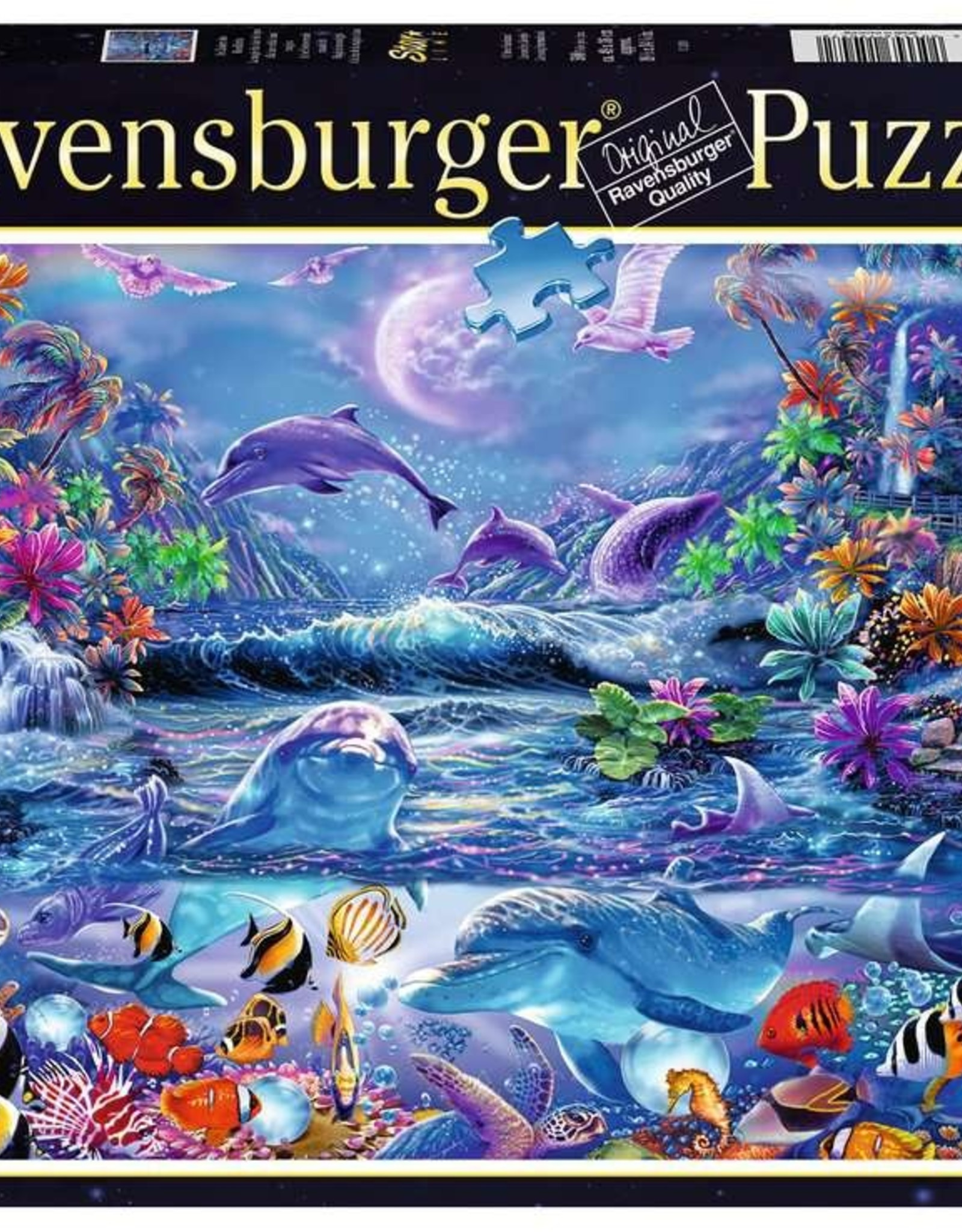 Ravensburger 500pc puzzle Magical Moonlight (glows in the dark)