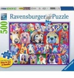 Ravensburger 500pc LF puzzle Hello Doggie